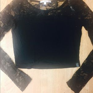Brand new lace Sleeve top